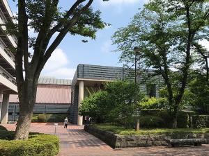 国立国会図書館の新館までの道