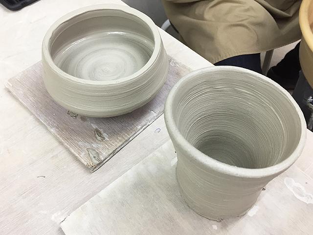 小鉢と湯呑