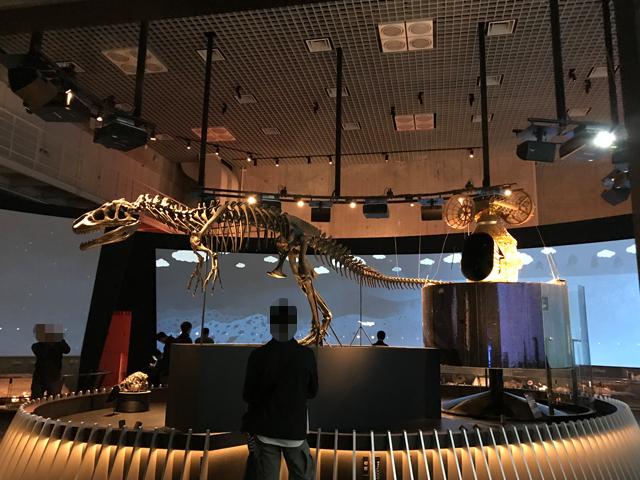 国立科学博物館 地球館 展示室